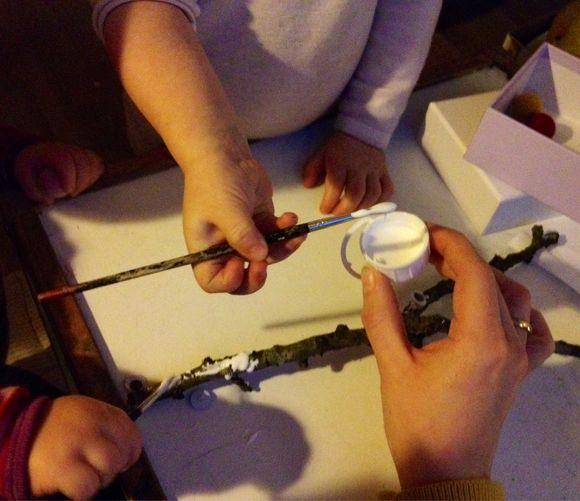 3 enkle ideer til Julekreativitet med en 3 årig